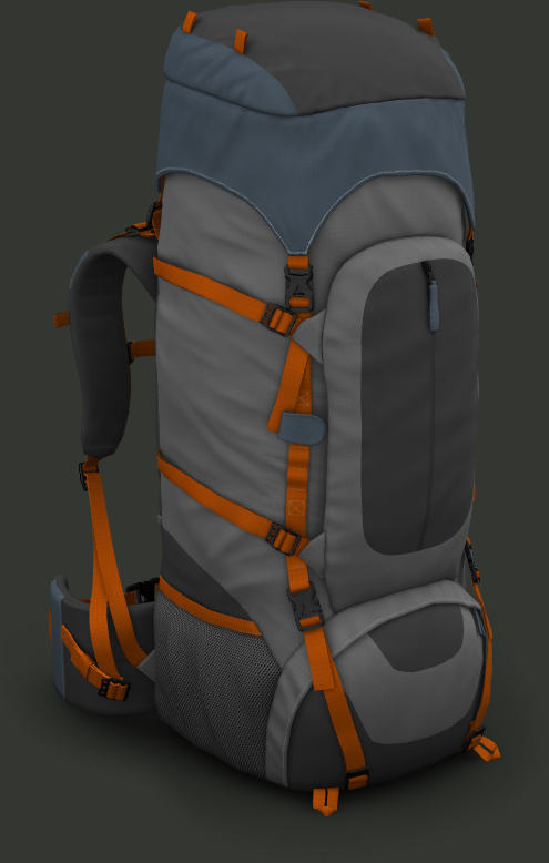 präsentation webgl backpack